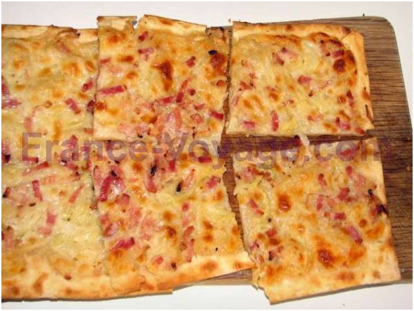 Tarte Flambée… Bon appétit ;)