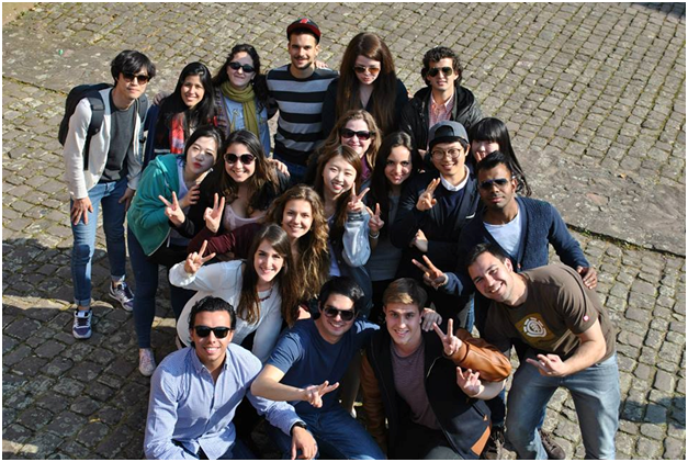 Part of Erasmus-team during one of the trips!